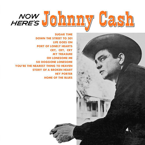 JOHNNY CASH LP Now Here's Johnny Cash
