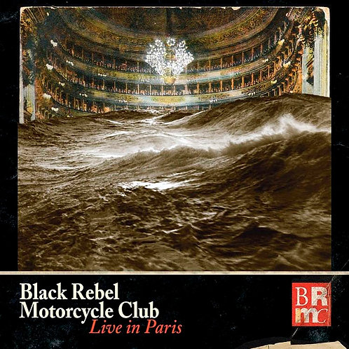 BLACK REBEL MOTORCYCLE CLUB 3xLP+DVD Live In Paris