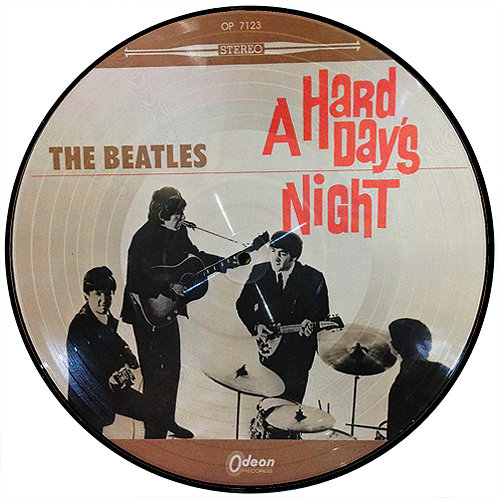 BEATLES LP A Hard Day's Night (Japan Picture Disc)