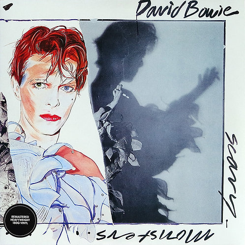 DAVID BOWIE LP Scary Monsters (Remastered 180G Heavyweight Vinyl)