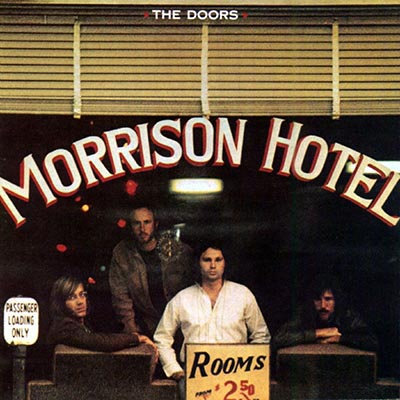 THE DOORS LP Morrison Hotel