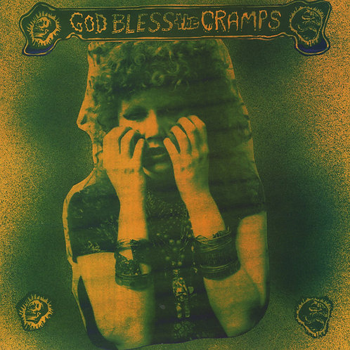 CRAMPS LP God Bless The Cramps (Yellow Coloured Vinyl)