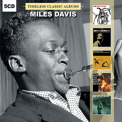 MILES DAVIS BOX SET 5xCD Timeless Classic Albums