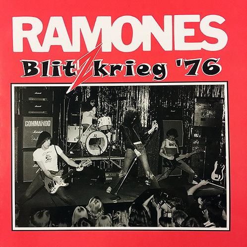 RAMONES LP Blitzkrieg '76 (Clear Coloured Vinyl)