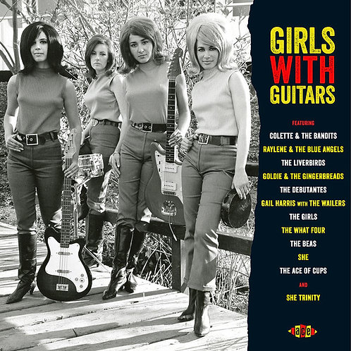 VARIOUS LP Girls With Guitars (Red Coloured Vinyl)