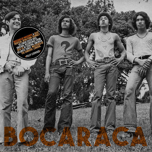 "BOCARACA 7"" Cahuita / Talves Mañana (Red Marbled Coloured Vinyl)"