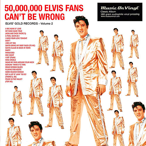 ELVIS PRESLEY LP 50,000,000 Elvis Fans Can't Be Wrong