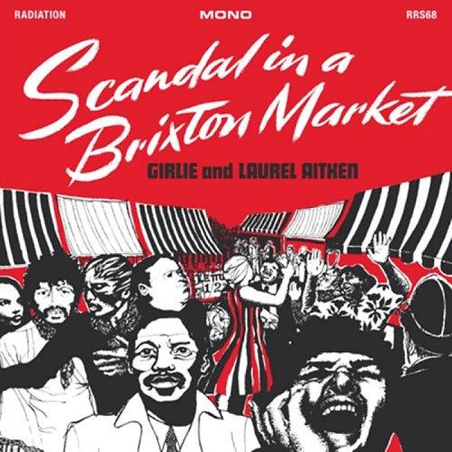 GIRLIE AND LAUREL AITKEN LP Scandal In A Brixton Market