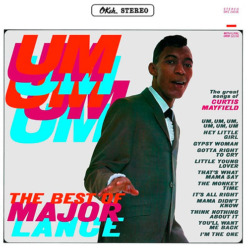 MAJOR LANCE LP The Best Of Major Lance