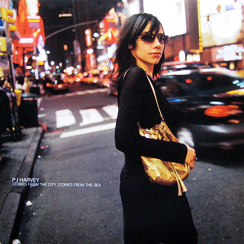 PJ HARVEY LP Stories From The City (Green Coloured Vinyl)