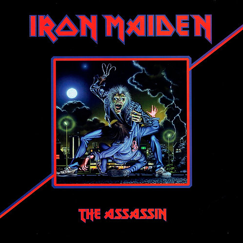 IRON MAIDEN LP The Assassin