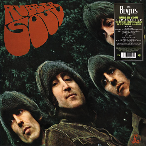 BEATLES LP Rubber Soul (Remastered)