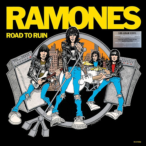 RAMONES LP Road To Ruin (Remastered)
