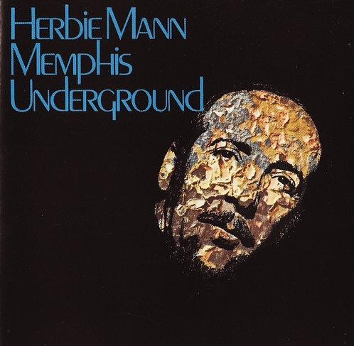HERBIE MANN CD Memphis Underground