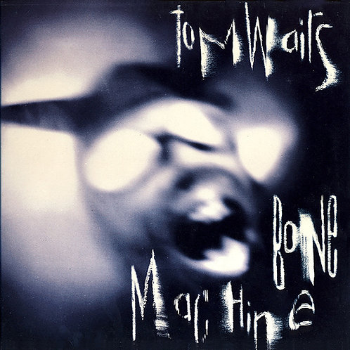 TOM WAITS LP Bone Machine (Grey Coloured Vinyl)