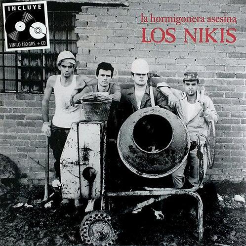 LOS NIKIS LP+CD La Hormigonera Asesina