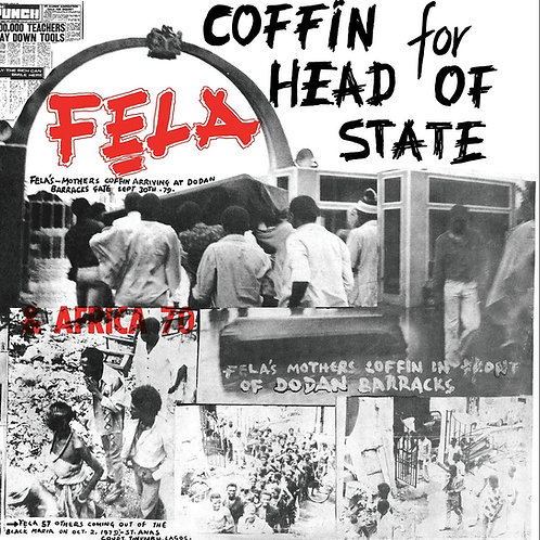 FELA KUTI & AFRICA 70 LP Coffin For Head Of State