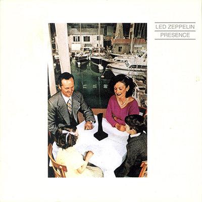 LED ZEPPELIN CD Presence (Vinyl Replica)