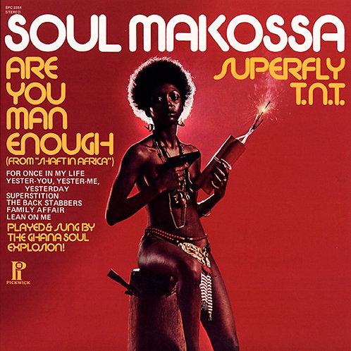 GHANA SOUL EXPLOSION LP Soul Makossa