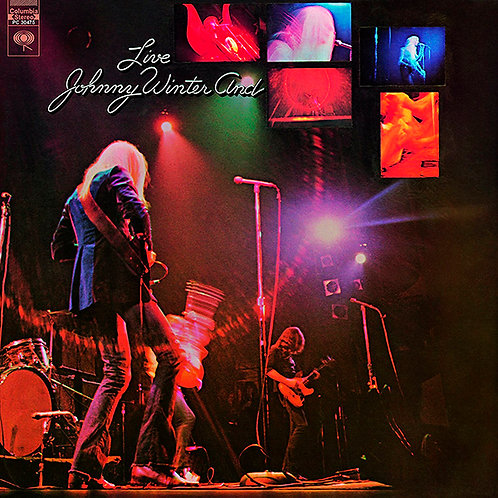 JOHNNY WINTER LP And Live (180 Gram)