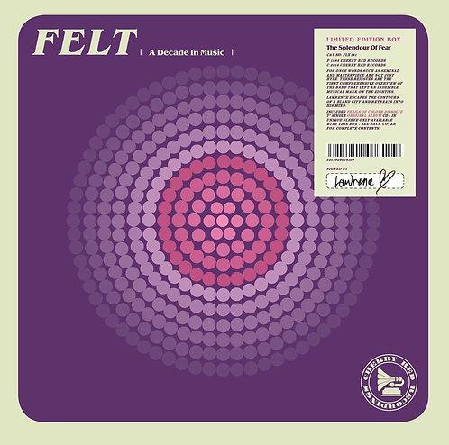 "FELT BOX SET CD+7"" The Splendour Of Fear"