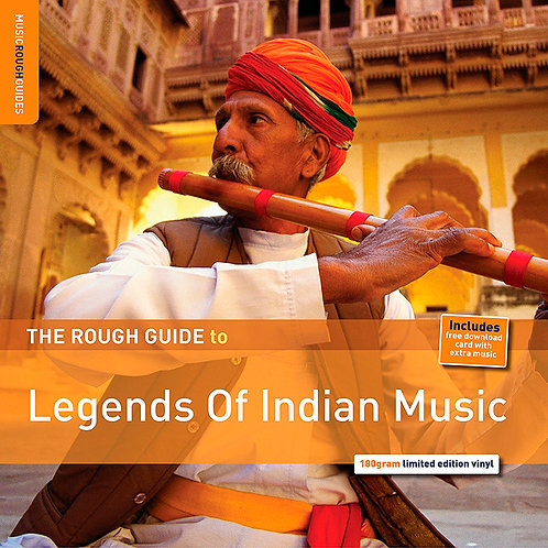 VARIOS LP The Rough Guide To Legends Of Indian Music
