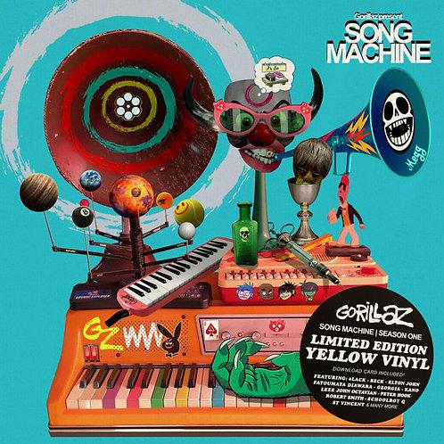GORILLAZ LP Song Machine Season One (Yellow Coloured Vinyl Limited Edit