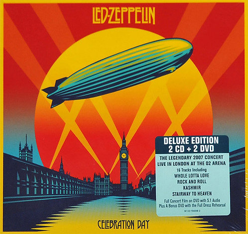 LED ZEPPELIN 2xCD+2xDVD Celebration Day (Deluxe Edition)