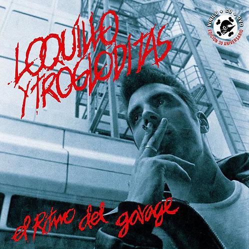 LOQUILLO Y TROGLODITAS LP+CD+DVD El Ritmo Del Garage (Red Coloured Vinyl)