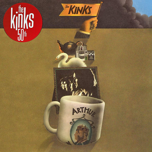 THE KINKS LP Arthur Or The Decline And Fall Of The British Empire (50th Anniver)