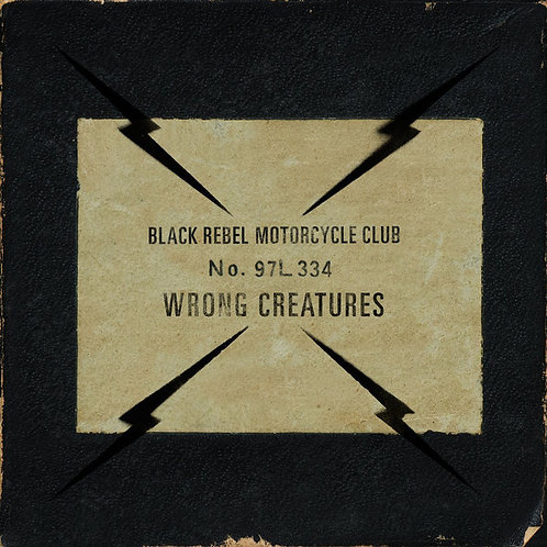 BLACK REBEL MOTORCYCLE CLUB 2xLP Wrong Creatures