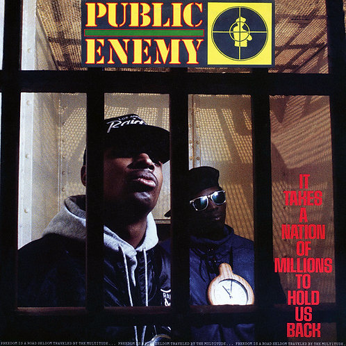 PUBLIC ENEMY LP It Takes A Nation Of Millions To Hold Us Back