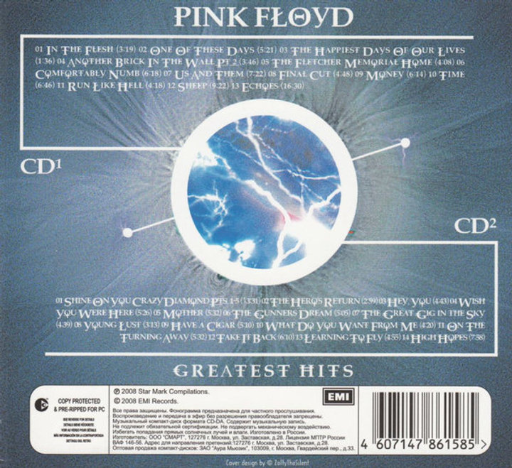 PINK FLOYD 2XCD Greatest Hits (Rare Digipack)