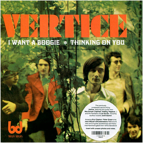 """VERTICE 7"""" I Want A Boogie / Thinking On You"""