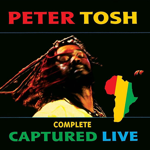 PETER TOSH 2xCD Complete Captured Live