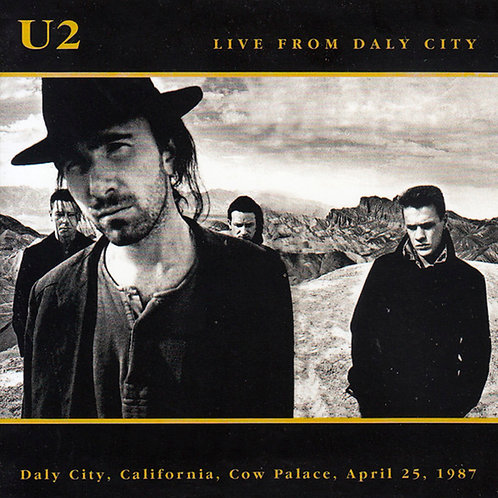 U2 2xCD Live From Daly City