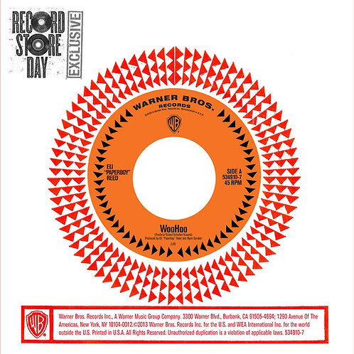 """ELI PAPERBOY REED 7"""" WooHoo (Record Store Day)"""