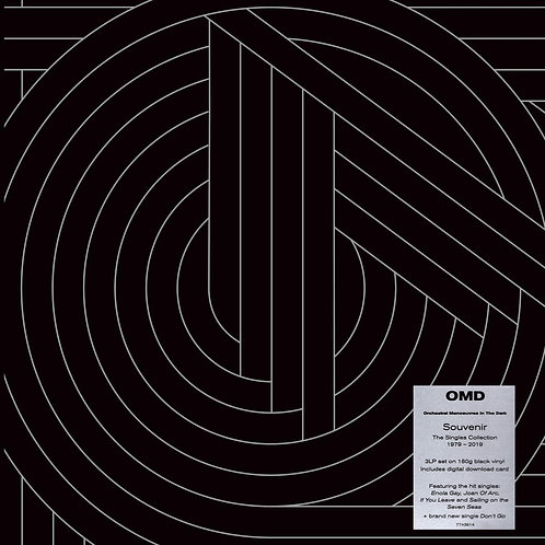 ORCHESTRAL MANOEUVRES IN THE DARK OMD 3xLP Souvenir - The Singles Collection