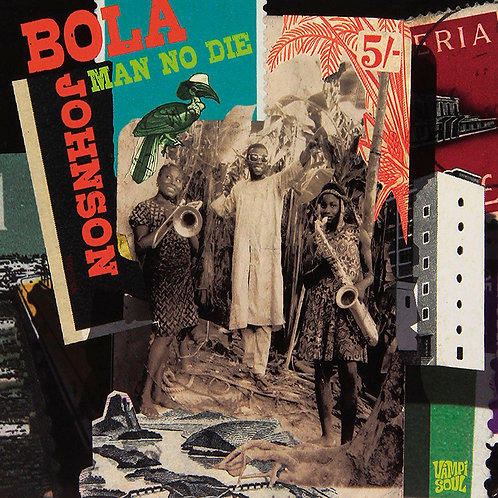 BOLA JOHNSON 2xCD Man No Die