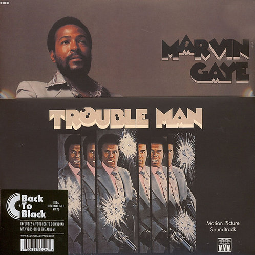 MARVIN GAYE LP Trouble Man (Motion Picture Soundtrack)