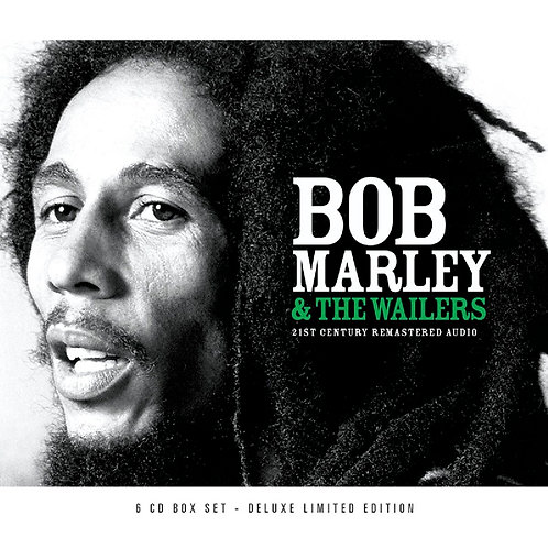 BOB MARLEY & THE WAILERS - BOX SET 6xCD 21st Century Remastered Audio