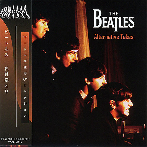 BEATLES CD Alternative Takes (Japan Mini Lp)