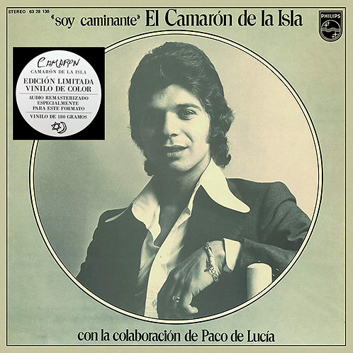 CAMARON LP Soy Caminante (White, Red and Blue Splatter Coloured Vinyl)