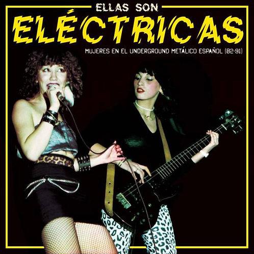 VARIOS LP Ellas Son Eléctricas - Mujeres En El Underground Metalico Español