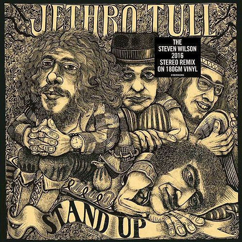 JETHRO TULL LP Stand Up (The 2016 Steven Wilson Stereo Remix) Pop Up Cover