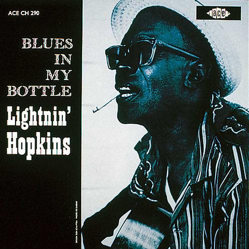 LIGHTNIN' HOPKINS LP Blues In My Bottle