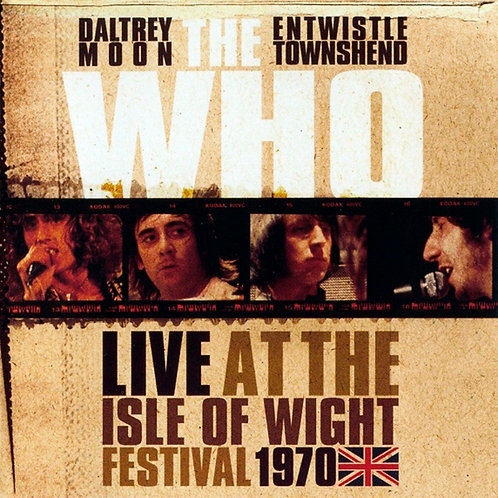 THE WHO 2xCD Live At The Isle Of Wight Festival 1970