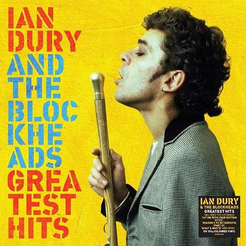 IAN DURY & THE BLOCKHEADS LP Greatest Hits (Yellow Coloured Vinyl)