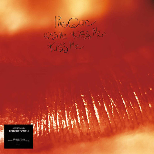 THE CURE 2xLP Kiss Me Kiss Me Kiss Me (Remastered by Robert Smith)
