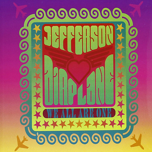 JEFFERSON AIRPLANE BOOK+CD We All Are One